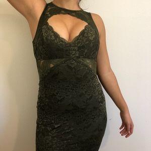 896c625ef0 Women s Green Guess Lace Dress on Poshmark